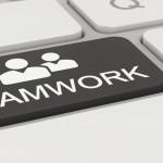 Tastatur - teamwork - schwarz